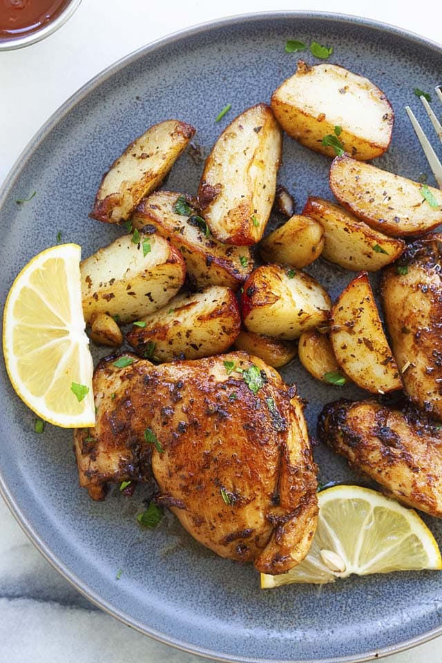 Delicious chicken and potato recipe for dinner.