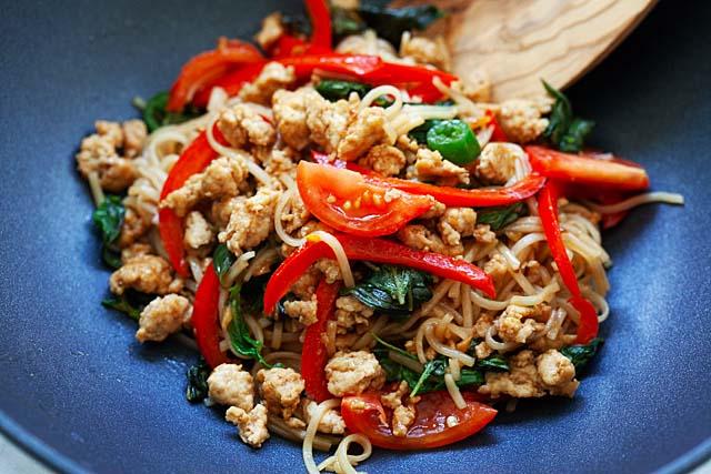 Pad Kee Mao Drunken Noodles
